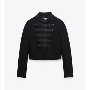 Zara black toggle blazer size medium